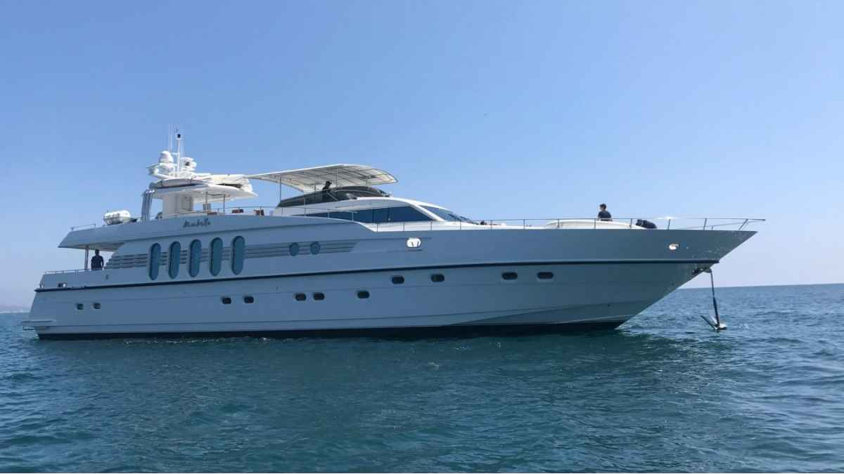 Profile of the Marbella luxury yacht